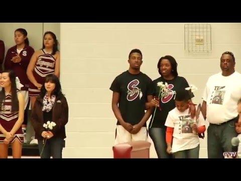 "Sequoyah Schools Basketball  ""Senior Night"""