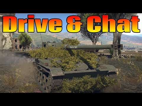 Drive and Chat: Live Commentary (AMX-13 Gameplay)