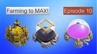 Clash of Clans - Farming to MAX! Episode 10 - Level 40 Archer Queen = OP