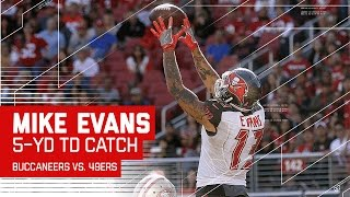 Jameis Winston Connects with Mike Evans for the TD! | Buccaneers vs. 49ers | NFL
