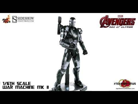 Video Review of the Hot Toys: 1/6 War Machine MK II from The Avengers Age of Ultron