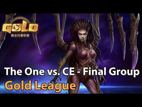 VOD: The One vs CE - Gold Series Heroes 2019 S.1 G.2