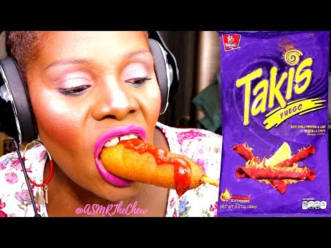 {TAKIS} FINGER FOOD MUKBANG ASMR EATING SOUND | Woo Mega Texture Tingle