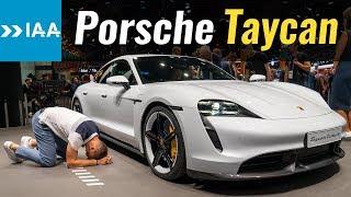 Taycan, привет!  Tesla, пока!  Обзор Porsche Taycan