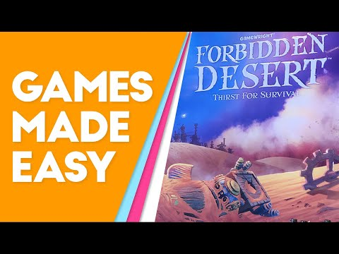 Learn How To Play Forbidden Desert Better And Faster