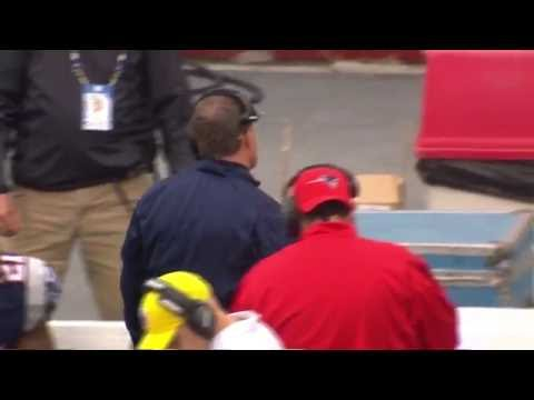 Bill Belichick Slams Tablet on Sidelines | Patriots vs. Bills | NFL