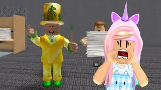 ROBLOX Escape The Evil Office Obby | Kunicorn Plays Roblox Games
