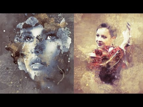 Modern Art Photoshop Action Tutorial