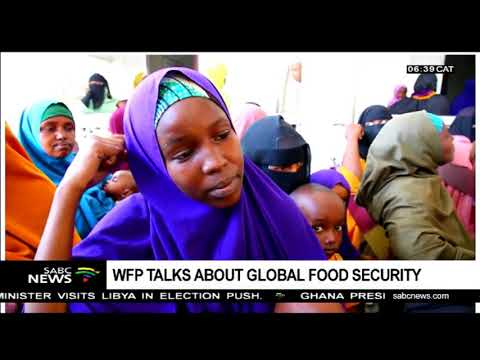 WFP talks about global food security