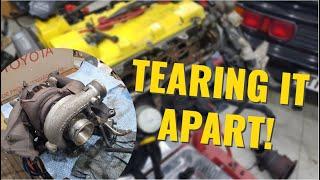 3SGTE Engine Teardown! - Project MR2 Turbo (Ep.2)