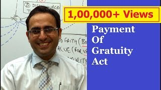 payment of gratuity act 1972 part 1    business law lectures for ca cs cma