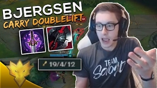 Bjergsen CARRIES DOUBLELIFT! League of Legends Funny Moments & Highlights