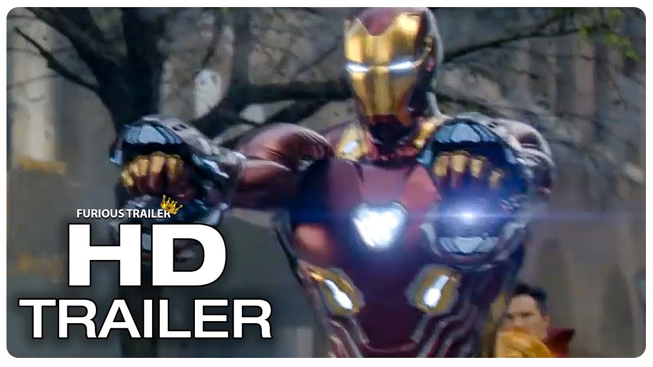 Avengers Infinity War Iron Man Vibranium Suit Trailer New 2018