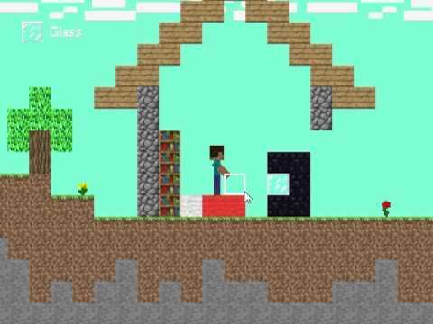 Игры майнкрафт 2д версия 1 28 играть