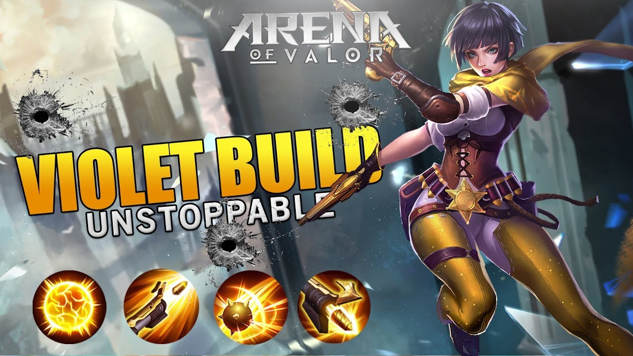 Arena Of Valor Violet Best Build