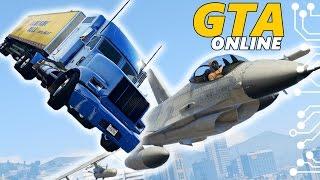 GTA 5 Online Угар - Летающий грузовик