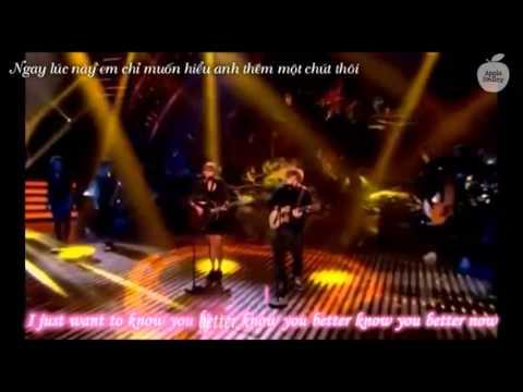 (Kara-Vietsub) Taylor Swift & Ed Sheeran -  Everything Has Changed (Britain's Got Talent Final 2013)