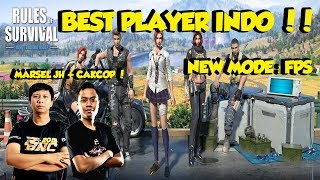 BEST PLAYER INDO MARSEL JH + CAKCOP !! RATA !! NEW MODE !!