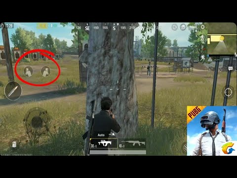 PUBG MOBILE - Know How To Enable Left And Right Side (Peek & Fire) Buttons And Take Advantage