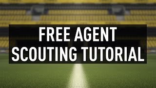 FIFA 17 Career Mode Tips & Tricks - How to Find High Potential Free Agents