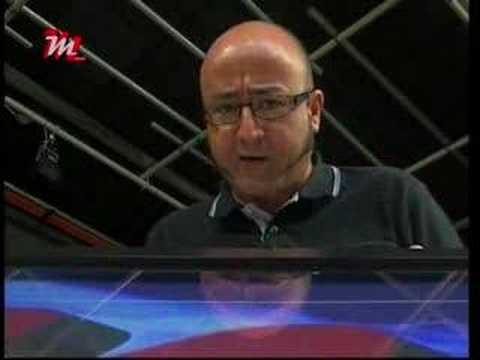 JESUS MARTINEZ presentador productor TELEVISION TV