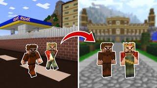 ARDA VE RÜZGAR BAŞKA ÜLKEYE GİTTİ! 😱 - Minecraft