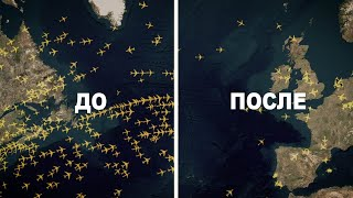 Снимки со спутника показали КАК коронавирус повлиял на мир