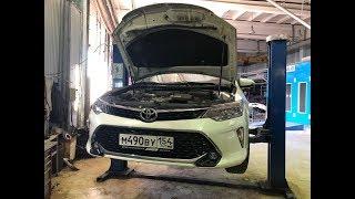 Toyota Camry XV50/55 2017 - Авто-обзор и тест драйв
