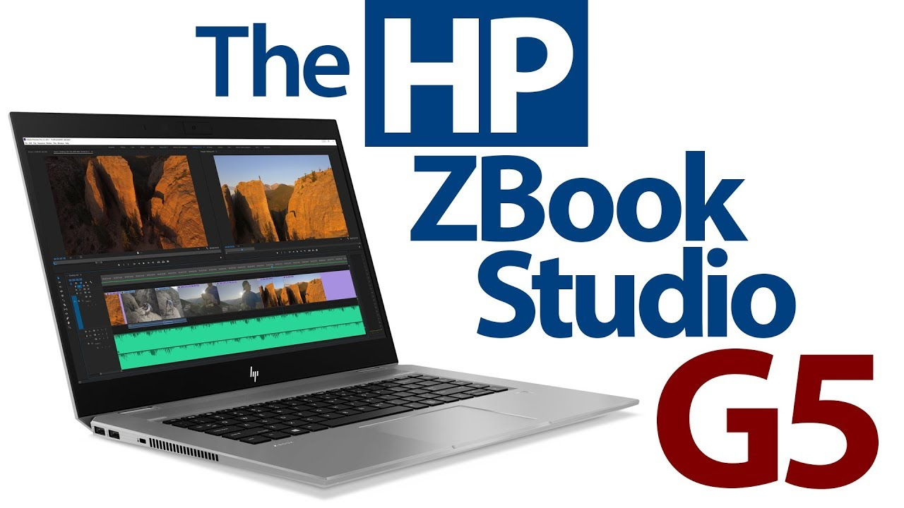 UPDATED! The New HP ZBook Studio G5 - Great workstation power in a thin &  light package