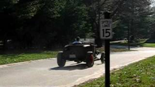29 Ford Roadster with 40 Mercury flathead V8 test drive