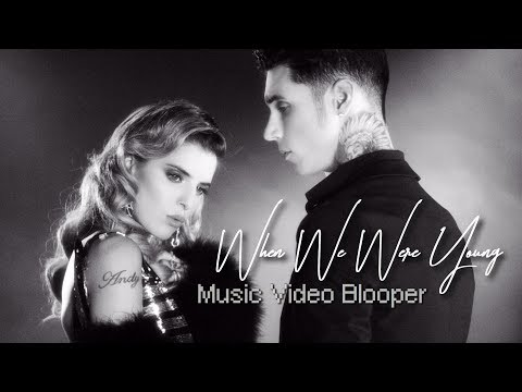 "Andy Black feat. Juliet Simms - ""When We Were Young"" BLOOPER"