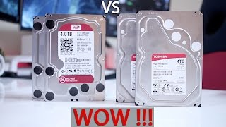 TOSHIBA N300 vs WD Red | WOW  !!!