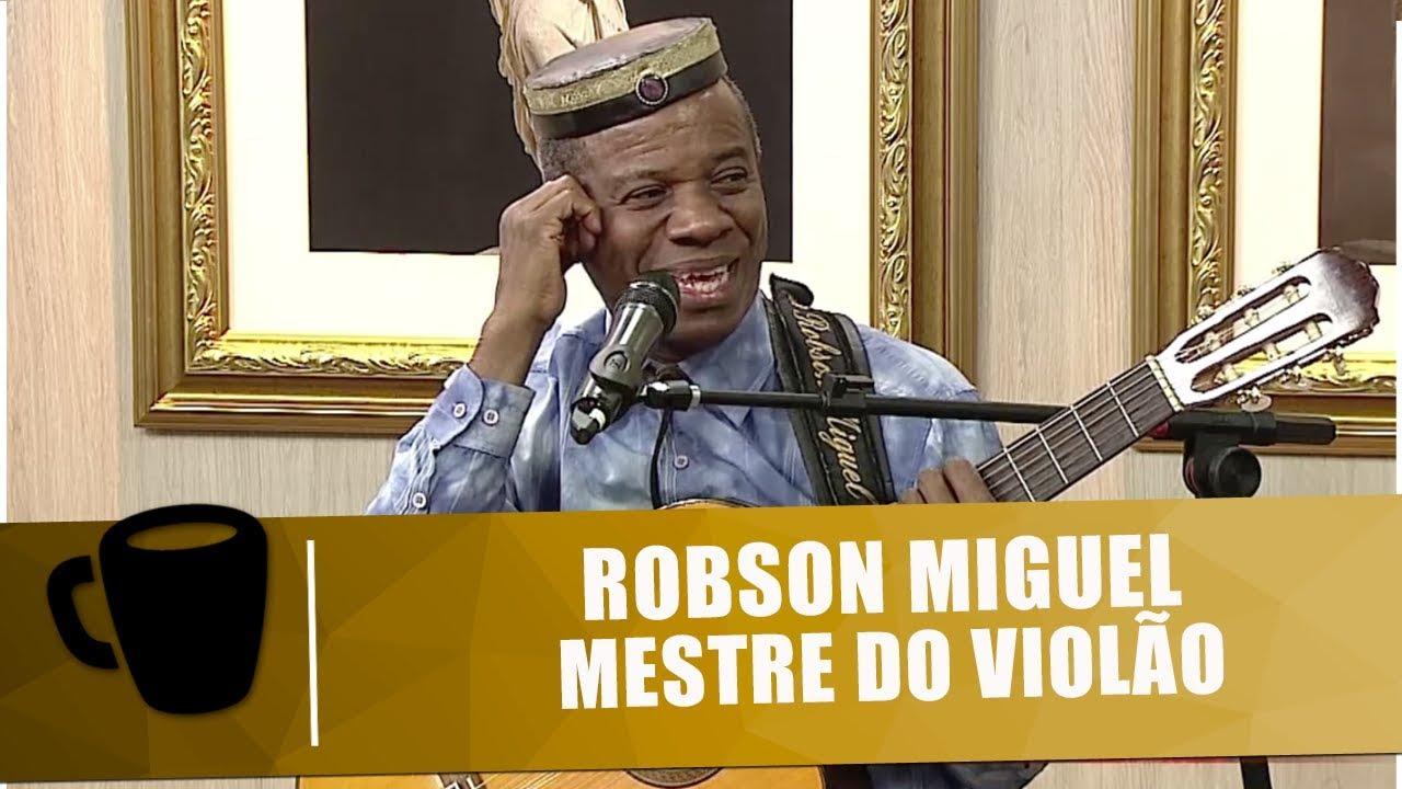 Musical e entrevista com o mestre do violão Robson Miguel - Tribuna Independente - 28/09/18