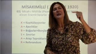 MİHRİBAN PAPAKER İNKILAP TARİHİ GENEL TEKRAR SEMİNERİ (6)