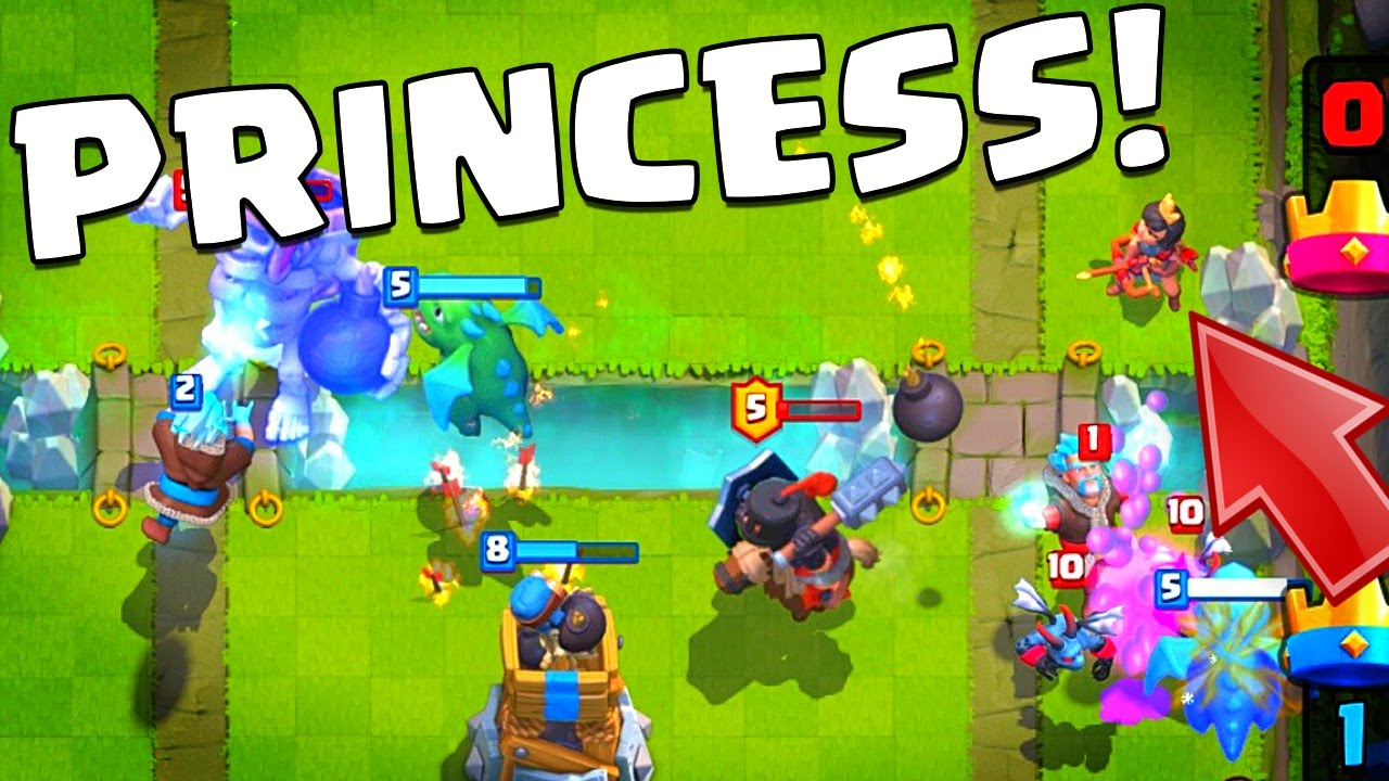 Clash Royale PRINCESS PLEASE! Final Legendary Card Hunt! - YouTube