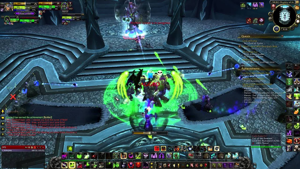 Simple wow guide full house solo lvl 100 heroic youtube for Cuisinier wow guide