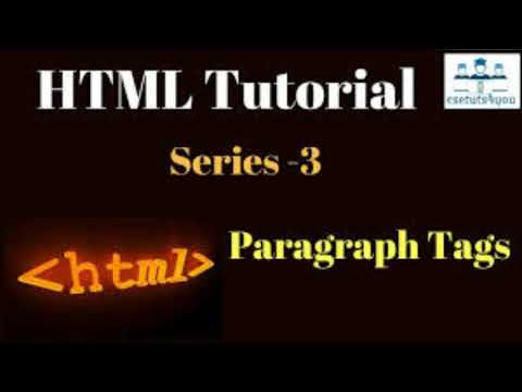 Html Tutorial Series Coming Stay Tune.