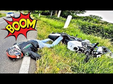 Scary Bike Crash - Angry & Crazy Motorcycle Moments (Ep. #3)