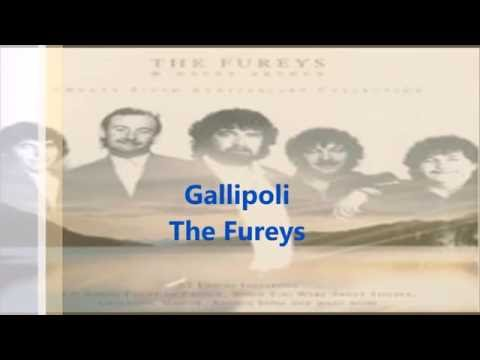 Gallipoli -The Fureys Lyric Video