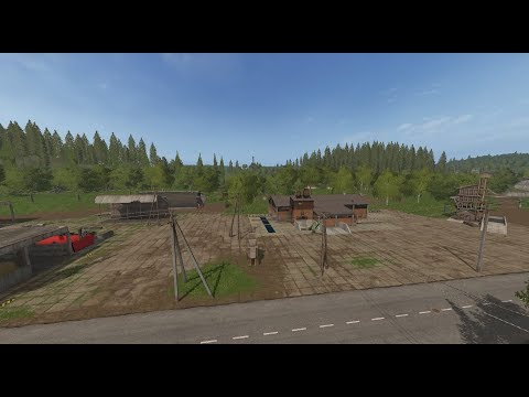 "Farming Simulator 17.Карта ""Сосновка Голд"".Стрим в одно лицо. №1"