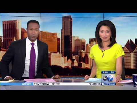 Reggi Lockhart WLS ABC 7 Chicago Traffic Producer Appreciated by Anchors