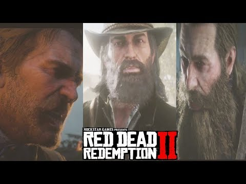 Red Dead Redemption 2 ALL ENDINGS - Ending (True/Good/Bad) - Death of Arthur & Micha Boss Fight