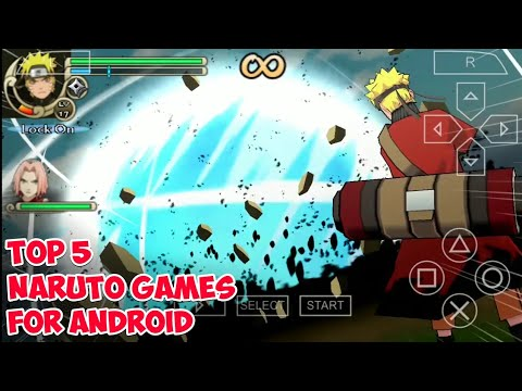 TOP 5 NARUTO OFFLINE GAMES FOR ANDROID & PPSSPP