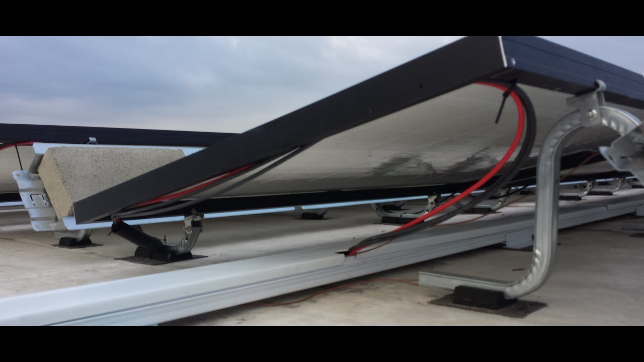RayTray Solar Wire Management System - YouTube