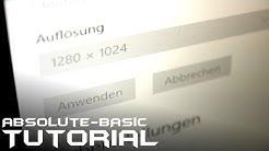 ABT - Optimale Bildschirmauflösung richtig einstellen S01E01