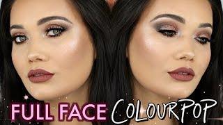 FULL FACE Colourpop Cosmetics Makeup Tutorial | COLOURPOP WEEK