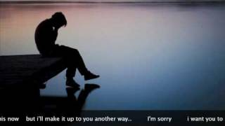 Teddy Geiger - I'm sorry - with lyrics