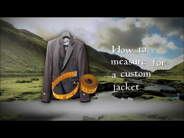 How to Measure for a Custom Jacket