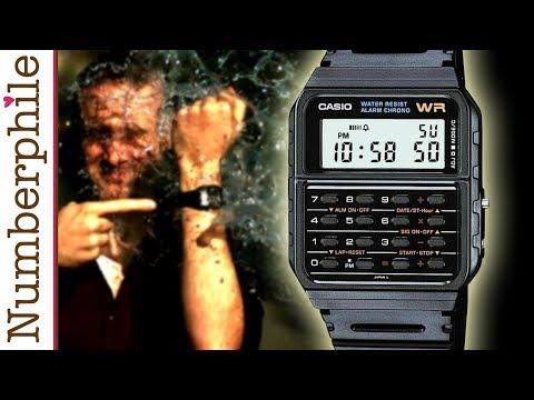 Calculator Unboxing #3 (Casio Watch) - Numberphile