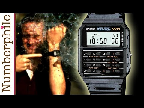 Calculator Unboxing #3 (Casio Watch) - Numberphile thumbnail